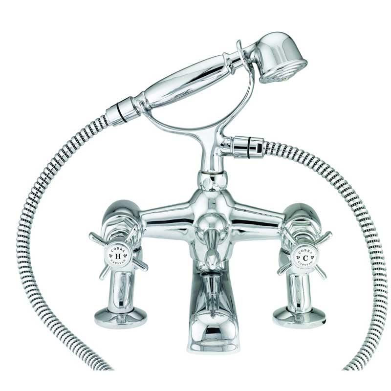 Cobra Capstan Bath Mixer Cs 252 001cp Bathroom Boutique